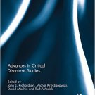 Ebook 978-0415824798 Advances in Critical Discourse Studies