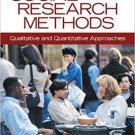 Ebook 978-1412978545 Social Research Methods: Qualitative and Quantitative Approaches