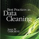 Ebook 978-1412988018 Best Practices in Data Cleaning: A Complete Guide to Everything You Need to
