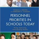 Ebook 978-1475804416 Personnel Priorities in Schools Today: Hiring, Supervising, and Evaluating T