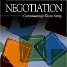 Ebook 978-0761923497 Negotiation: Communication for Diverse Settings