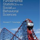 Ebook 978-1483318790 Fundamental Statistics for the Social and Behavioral Sciences