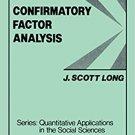 Ebook 978-0803920446 Confirmatory Factor Analysis: A Preface to LISREL (Quantitative Applications