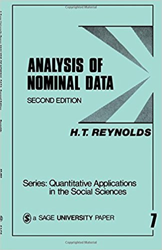 Ebook 978-0803906532 Analysis of Nominal Data (Quantitative Applications in the Social Sciences)