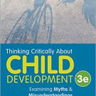 Ebook 978-1483370095 Thinking Critically About Child Development: Examining Myths and Misundersta