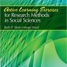Ebook 978-1412981231 Active Learning Exercises for Research Methods in Social Sciences