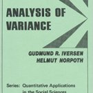 Ebook 978-0803930018 Analysis of Variance (Quantitative Applications in the Social Sciences)