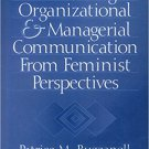 Ebook 978-0761912781 Rethinking Organizational and Managerial Communication from Feminist Perspec
