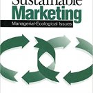 Ebook 978-0761912194 Sustainable Marketing: Managerial - Ecological Issues