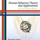Ebook 978-1412990363 Human Behavior Theory and Applications: A Critical Thinking Approach