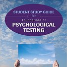 Ebook 978-1506308050 Student Study Guide for Foundations of Psychological Testing
