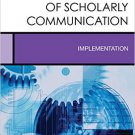 Ebook 978-1442275034 Open Access and the Future of Scholarly Communication: Implementation (Creat
