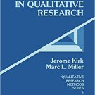 Ebook 978-0803924703 Reliability and Validity in Qualitative Research (Qualitative Research Metho