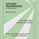 Ebook 978-1483381473 Applied Regression: An Introduction (Quantitative Applications in the Social