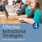 Ebook 978-1483306582 Effective Instructional Strategies: From Theory to Practice
