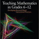 Ebook 978-1412995689 Teaching Mathematics in Grades 6 - 12: Developing Research-Based Instruction