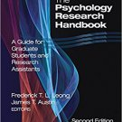 Ebook 978-0761930211 The Psychology Research Handbook: A Guide for Graduate Students and Research