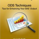 Ebook 978-1612908540 ODS Techniques: Tips for Enhancing Your SAS Output