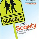 Ebook 978-1452275833 Schools and Society: A Sociological Approach to Education
