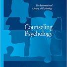 Ebook 978-0754625445 Counseling Psychology (The International Library of Psychology)