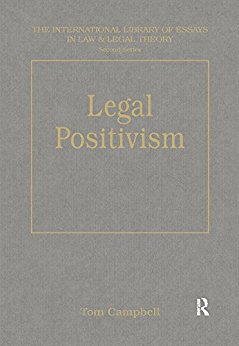 Ebook 978-1840147322 Legal Positivism (The International Library of Essays in Law and Legal Theor