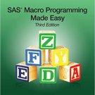 Ebook 978-1612906935 SAS Macro Programming Made Easy, Third Edition