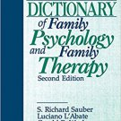 Ebook 978-0803953338 The Dictionary of Family Psychology and Family Therapy