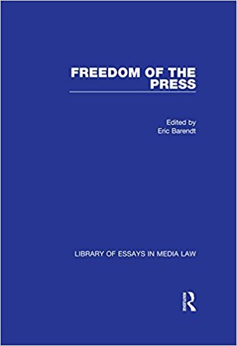 Ebook 978-0754627821 Freedom of the Press (Library of Essays in Media Law)