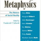Ebook 978-0742514294 Socializing Metaphysics: The Nature of Social Reality