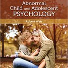 Ebook 978-1506339764 Introduction to Abnormal Child and Adolescent Psychology