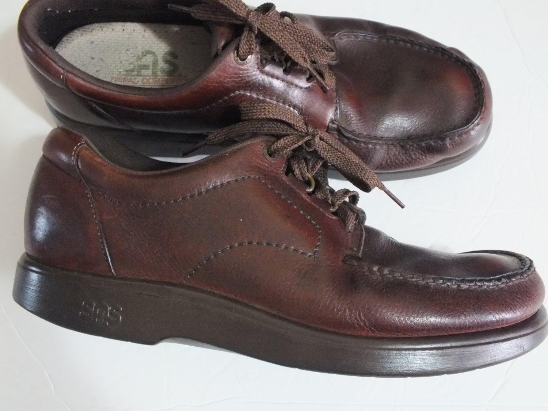SAS Tripad Comfort soft step oxford men size 11.5 M brown leather