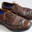 Dr. Comfort pressure relief Wingtip brown. Leather upper, Size men US 12