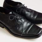 Chaser productions black leather oxford dress shoes Men size EUR 43 US 12