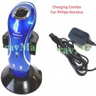 Charging Stand Combo For Philips Norelco 2D 1150X 1160X 1180X 1190X 6100 6800 66