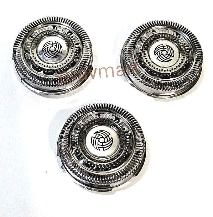 RQ12 3X Shaver Head For Philips Norelco RQ12+ Pro SH90 SH70 S7000 S9000 S8000