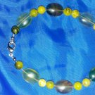 Flourite and African blood stone bracelet