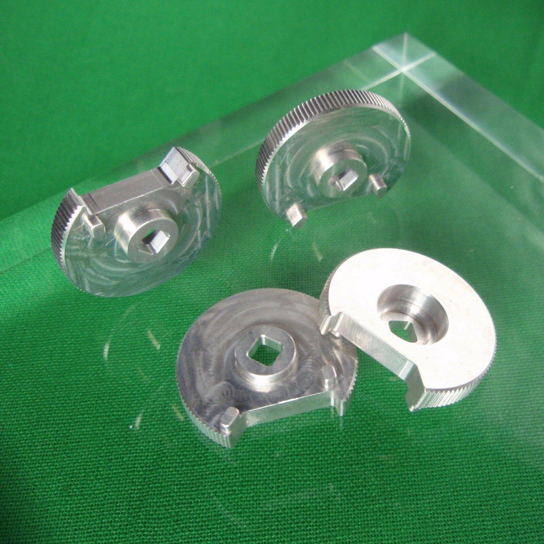 Star Trek TOS Aluminum NEW ITEM Phaser Lock Plate Die Cut Mirror Polished