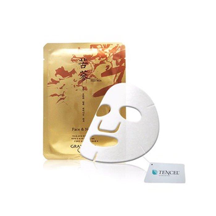 GRATIASOO KOREA Gosam Sophora Anti-Aging Face and Neck Sheet Mask, 10 Sheets