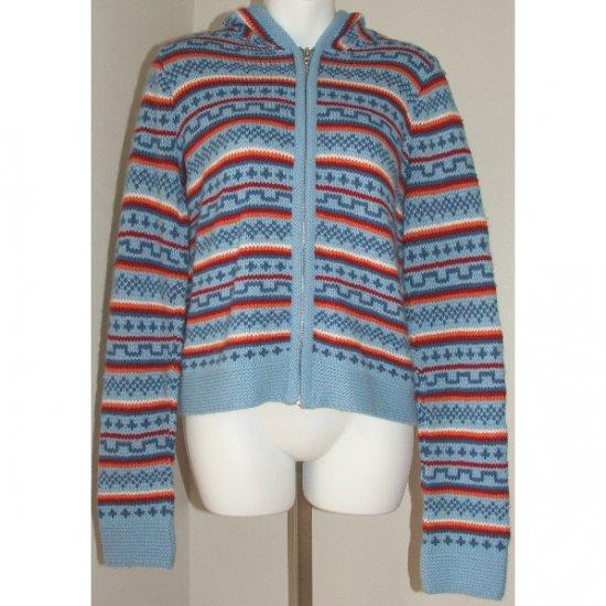 ARIZONA JEAN CO. Bright Hooded Sweater M