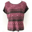 HILLARD & HANSON Shades of Purple Top P XL
