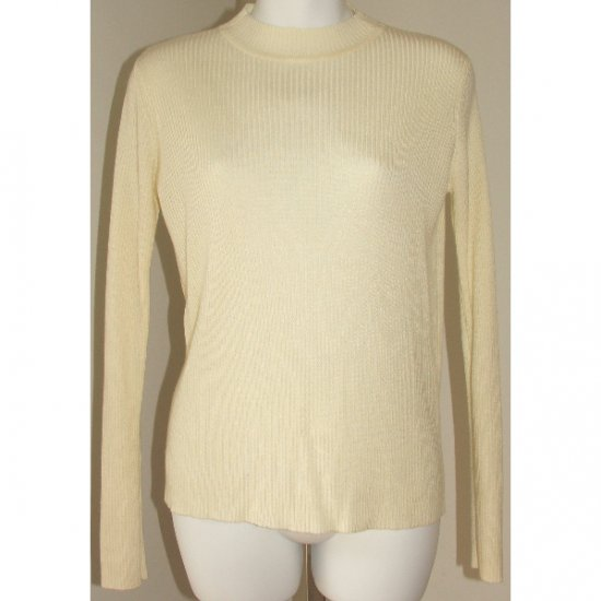 SAG HARBOR White Sweater Small