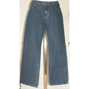 ABERCROMBIE Medium Wash Jeans 16 New Without Tags