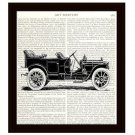 Dictionary Art Print 8 x 10 Packard Touring Car Vintage Wall Art Home Decor