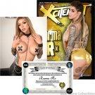 Xcitement Magazine Autograph by Karma Rx W/CoA #KR91921001