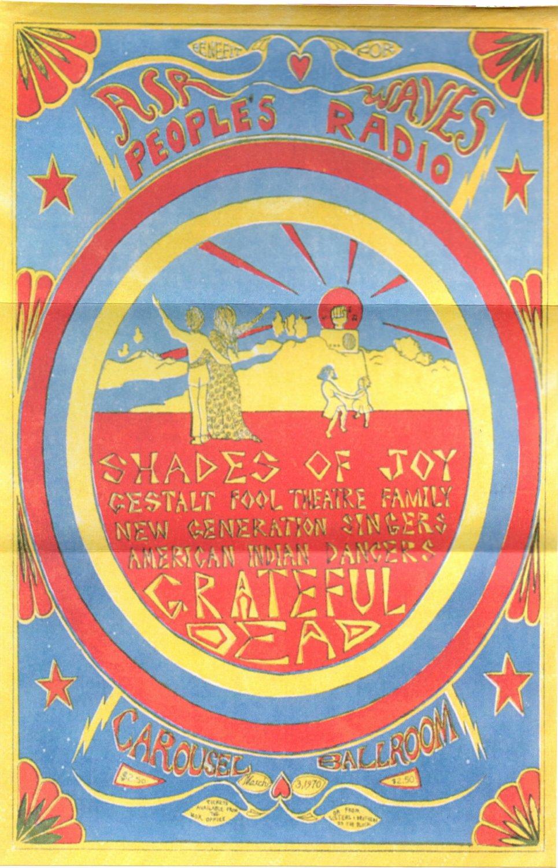 Lot Detail - 1967-FD-45-RP-2-Avalon Ballroom-Grateful Dead