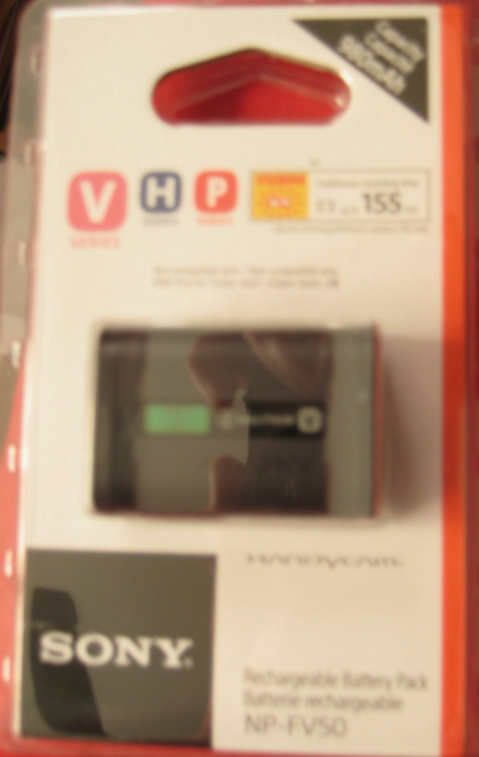 Sony NP-FV50 V-Series Rechargeable Battery for Sony Camcorder Handycam
