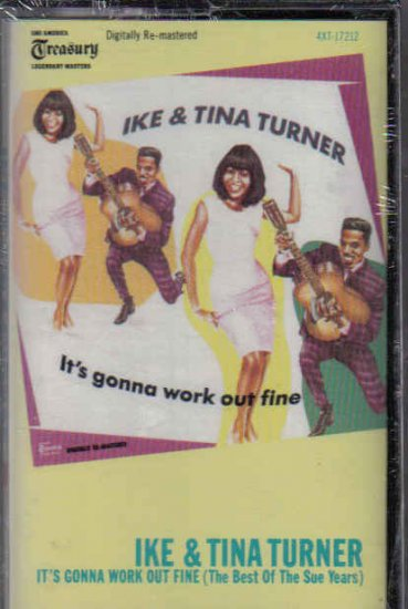 NEW OLD STOCK CASSETTE TAPE IKE AND TINA ITS GONNA WORK OUT FINE