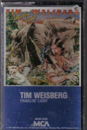 NEW OLD STOCK CASSETTE TAPE TIM WEISBERG TRAVELIN' LIGHT