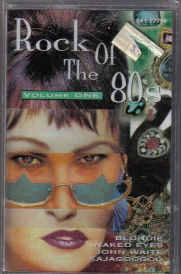 NEW OLD STOCK CASSETTE VARIOUS ROCK OF THE 80S VOL 1