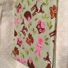 Baby Forest Friends receiving blanket lap blanket beach blanket oversized double